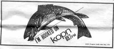 1974 KOPN Ad