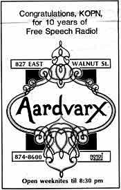 Aardvarx