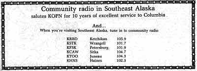 Community Radio in Southeast Alaska